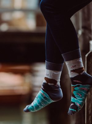 Baer und Lachs - Spox Sox Socken