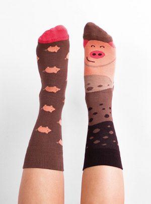 Lustige PIGGY Socken