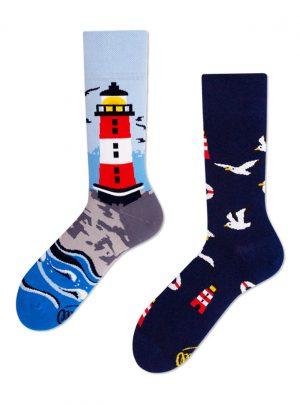 Nordische Leuchtturm Socken