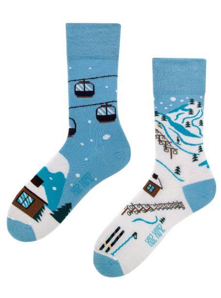 coole Winterspass in den Alpen Socken - Spox Sox
