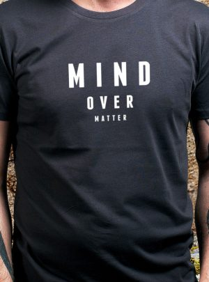 MIND OVER MATTER Herren Bio T-Shirt