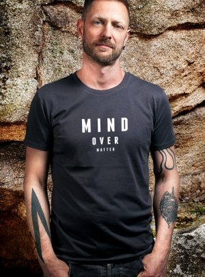 mind over matter bio Herren T-Shirt