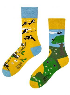 Fruehlings Socken-lustige Socken-SpoxSox