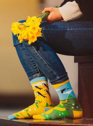 Fruehlings Socken