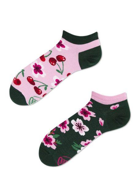 Sneaker - kurze Socken - Kirschen