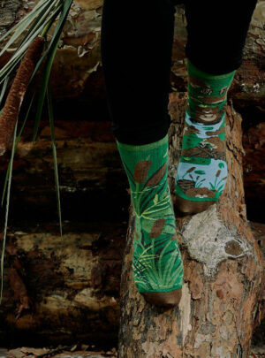 Lustige Socken - Biber Socken Spox Sox