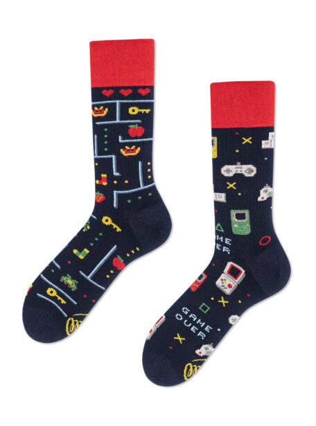 Bunte Socken Game Over