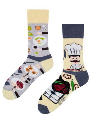 Lustige Koch Socken- Fred Combuse