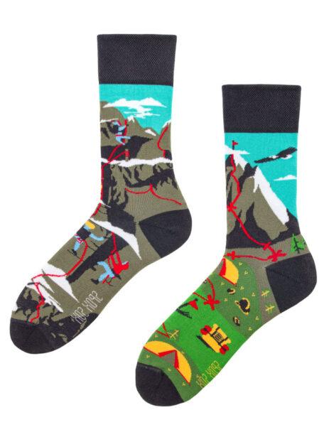 Ungleiche Socken - Kletterliebhaber