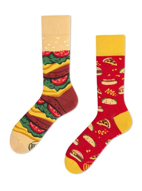 lustige Street Food Socken