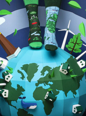 SAVE THE PLANET Socken