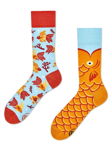 Goldfisch Socken MM-Wunschfisch