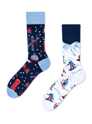 BERGE, SCHNEE und SPAß Socken