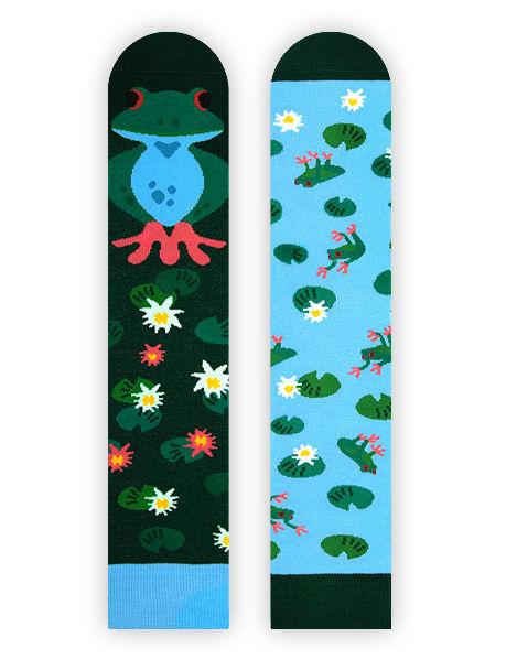 Quakige Frosch Socken Nanushki