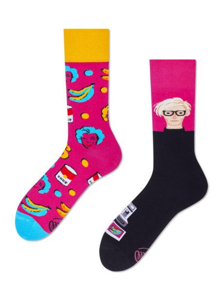 Pop Art Manymornings Socken