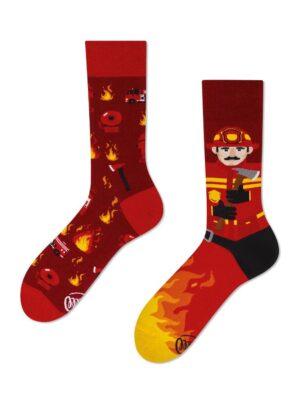Feuerwehrmann Socken