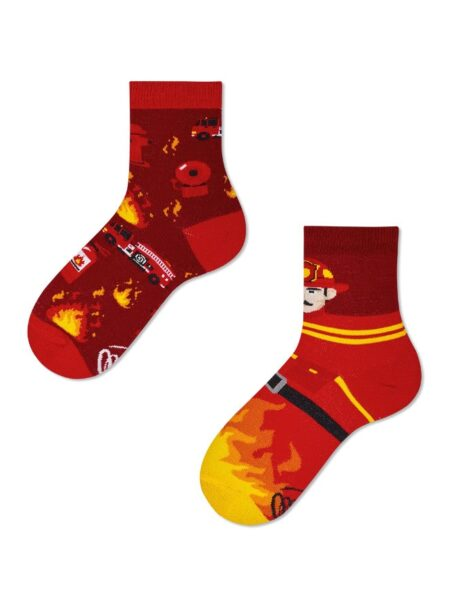 Feuerwehrmann Socken Kids
