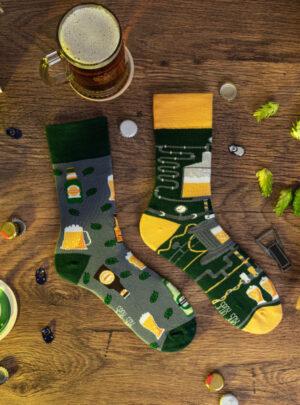 Biertrinker und Bierbrauer Socken Spox Sox