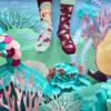 Meerjungfrau Socken