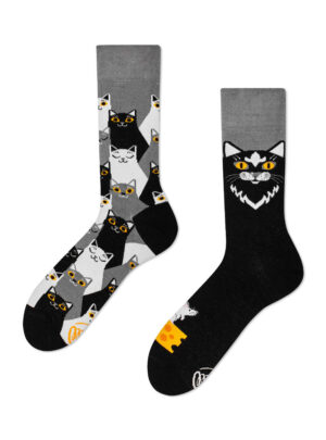 Black Cat Socken MM