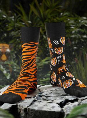 Tiger Socken Many Mornings
