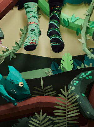 SNEAKY SNAKE Socken